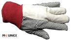 دستکش خالدار کتان