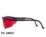 عینک ایمنی توتاص لنز قرمز