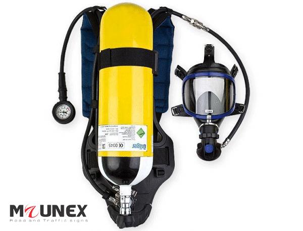 ست کامل دستگاه تنفسی دراگر   سیستم تنفسی هوای فشرده دراگر paslite
