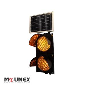 چراغ راهنمایی دو خانه ال ای دی خورشیدی