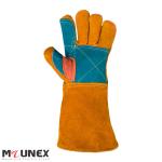 دستکش جوشکاری هوبارت کف دوبل مدل Worker