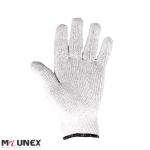 دستکش ایمنی بافتنی نخ پنبه