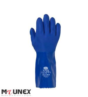 دستکش ضد اسید ماتریکس مدل BLUCHEM