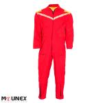 لباس کار یکسره قرمز زرد