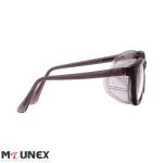 عینک ایمنی برشکاری بغل توری