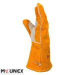 دستکش جوشکاری چرمی طرح فرانسوی