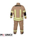 لباس عملیاتی آتش نشانی طرح PBI خاکی